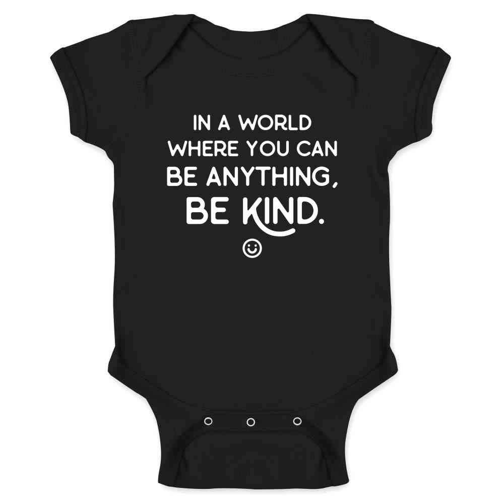 Be Kind Choose Kindness Teacher Cute No Bullies Infant Baby Boy Girl Bodysuit