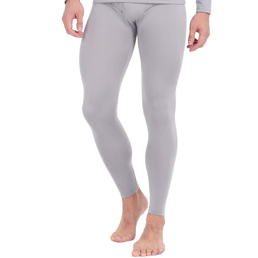 MANCYFIT Thermal Pants for Men Long Underwear Bottoms Compression Base Layer Leggings