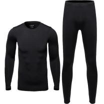 Men Thermal Underwear Set - Winter Thermal Long Johns Mens Warm Top and Bottom Set