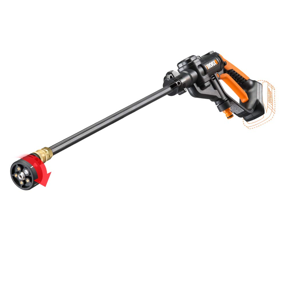 WORX WG629.9 Hydroshot 20V PowerShare 2.0 Ah 320 PSI Cordless Portable Power Cleaner (Tool Only)