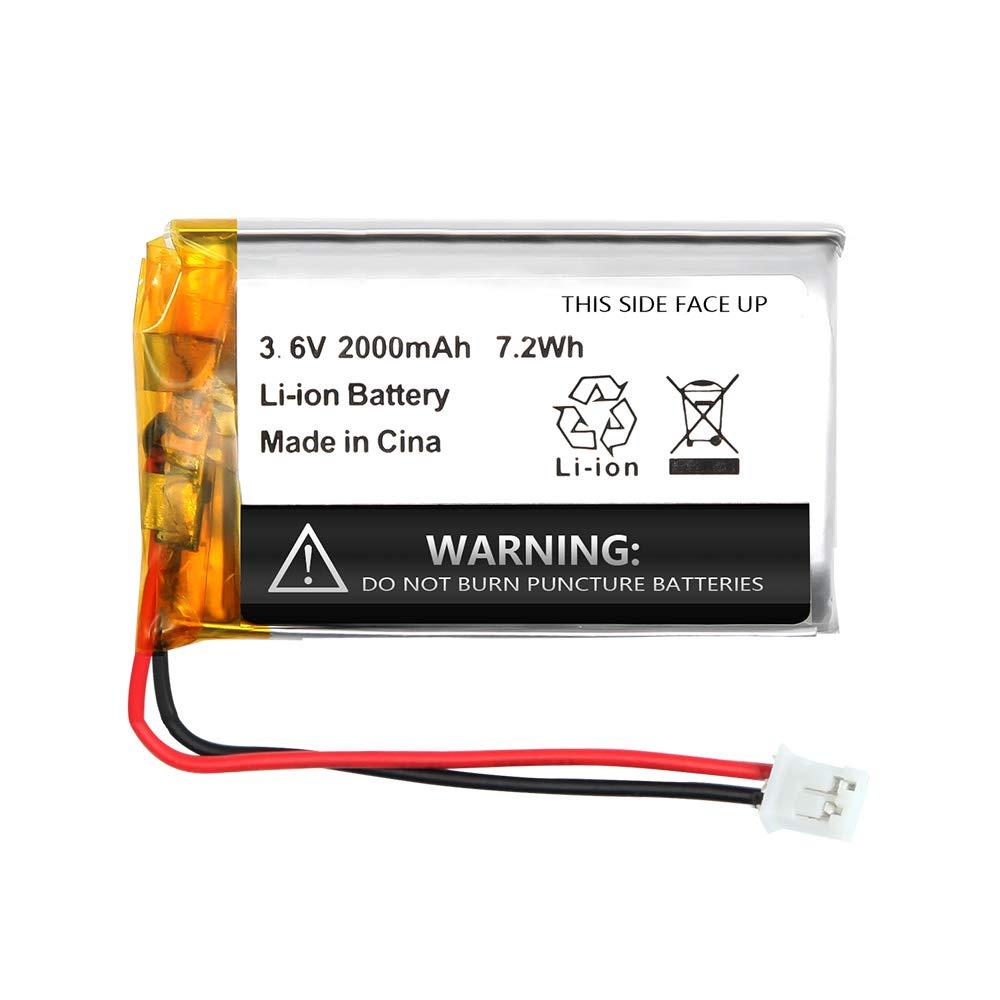2000mAh Replacement High-Capacity Battery for Motorola Baby Monitor MBP33 MBP33S MBP33PU MBP36 MBP36PU