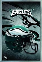 "Trends International Philadelphia Eagles-Helmet Wall Poster, 24.25"" X 35.75"", Multicolor"