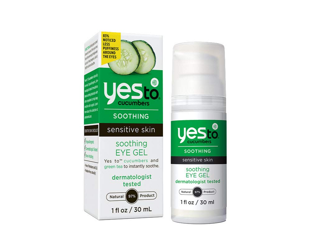 Yes To Cucumber Soothing Eye Gel, 1.01 Fluid Ounce