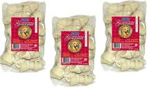 IMS Trading Natural Rawhide Bone for Dogs, 4-Inch / 1-Pound Bags