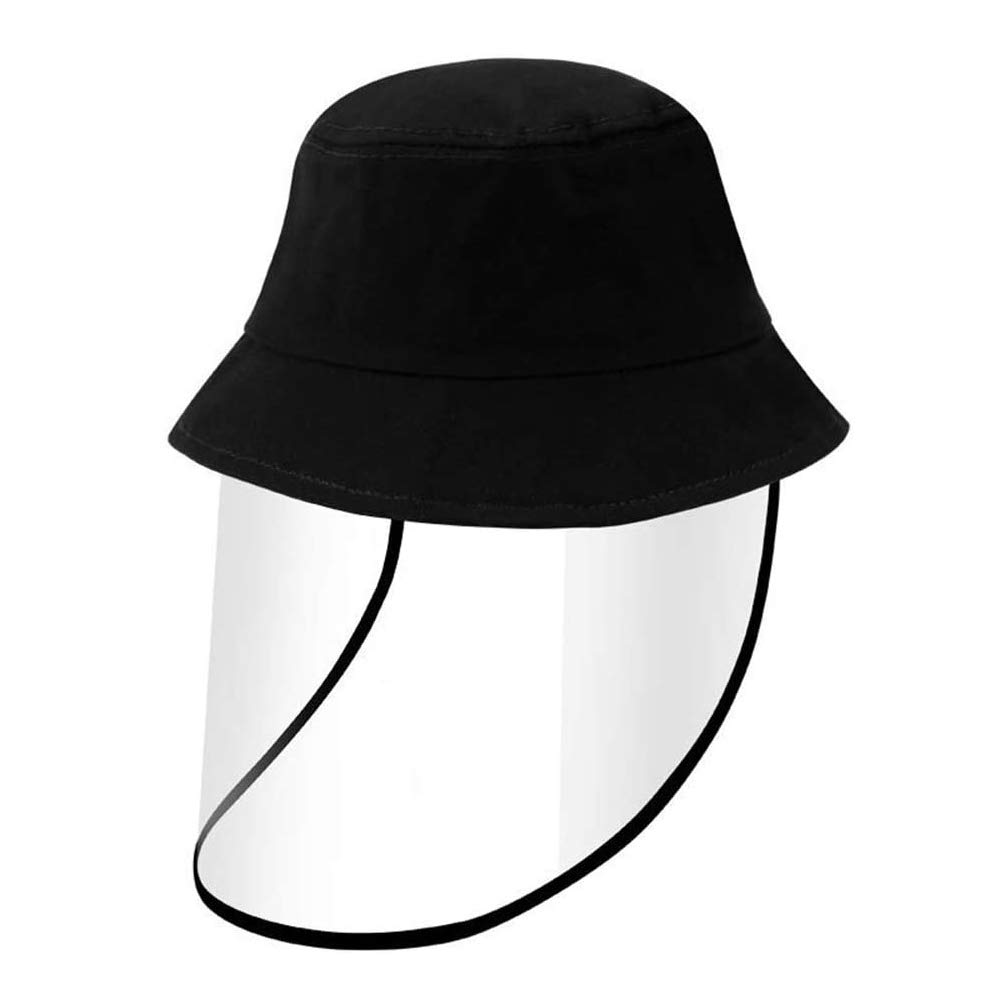 UV Sun Hat Dust-Proof Bucket Hat for Boys Girls, Wide Brim Summer Sun Cap Cotton Protective Hat for Outdoor