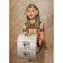 Toilet Paper Holder - Priestess A-KAH-KAH-Loo Egyptian Bathroom Decor - Toilet Paper Roll - Bathroom Wall Decor