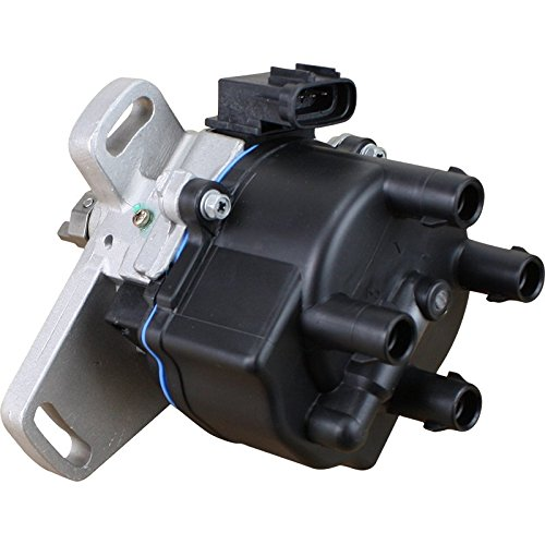 AIP Electronics Heavy Duty Stock Series Complete Electronic Ignition Distributor Compatible Replacement For 1992-1995 Toyota Camry Celica MR2 2.2L 19050-74040 19050-74070 Oem Fit D5SFE-SS