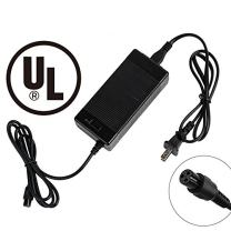 EVAPLUS UL 42V 1.5A AC/DC Charger PowerFast 3-Prong Inline Connector for 36V Pocket Mod, Sports Mod Lithium Battery, Battery Charger for Electric Scooter
