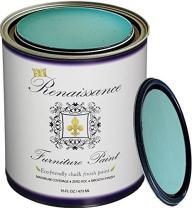 Renaissance Chalk Finish Paint - Seven Sea's 1 Pint (16oz) - Chalk Furniture & Cabinet Paint - Non Toxic, Eco-Friendly, Superior Coverage