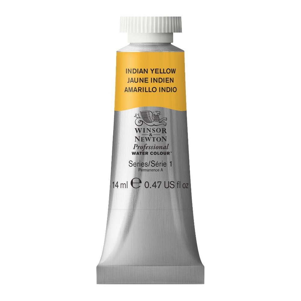 Winsor & Newton Professional Water Colour Paint, 14ml tube, Indian Yellow