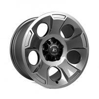 "Rugged Ridge 15302.30 Drakon Gun Metal Wheel (17""x9"")"