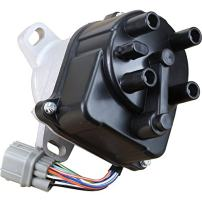 AIP Electronics Complete Premium Electronic Ignition Distributor Compatible Replacement For 1996-2001 Acura Integra 1.8L Non-VTEC TD-85U 30100-P75-A03 OBD2A/B Oem Fit DTD85