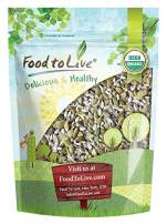 Organic Sprouted Seeds Mix, 8 Ounces — Raw & Non-GMO Snack Mix Contains Sprouted Pumpkin and Sunflower Seeds. Vegan Superfood, Kosher, Bulk