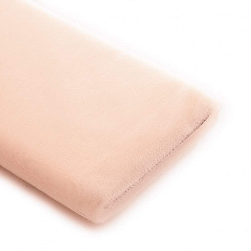 Craft and Party 54'' Tulle (Bolt 40 Yard) Fabric, Blush