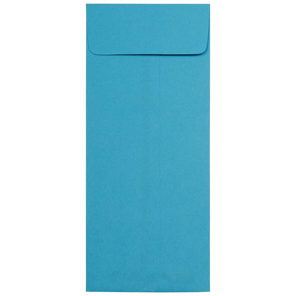 JAM PAPER #12 Policy Business Colored Envelopes - 4 3/4 x 11 - Blue Recycled - Bulk 500/Box