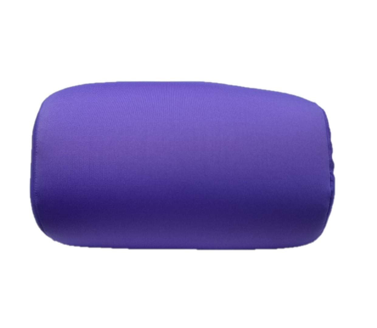 Bookishbunny Home Office Chair Car Seat Cushion Micro Bead Roll Pillow 7 X 12 Head Neck Back Body Comfort Purple