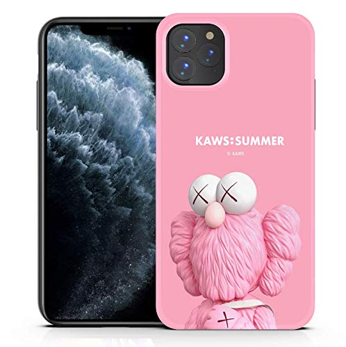 Shellstyle Fashion Cute iPhone Cases Compatible with iPhone 11 Pro Max (6.5 inch Screen) 2019, Luxury Flexible Gel Case with Whole Edge Protection (Pink kks, iPhone 11 Pro Max 6.5 Inch)