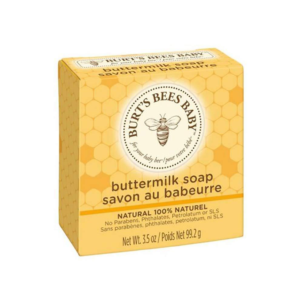 Burt's Bees Baby Buttermilk Soap 3.5 Oz Bar 3 Pack