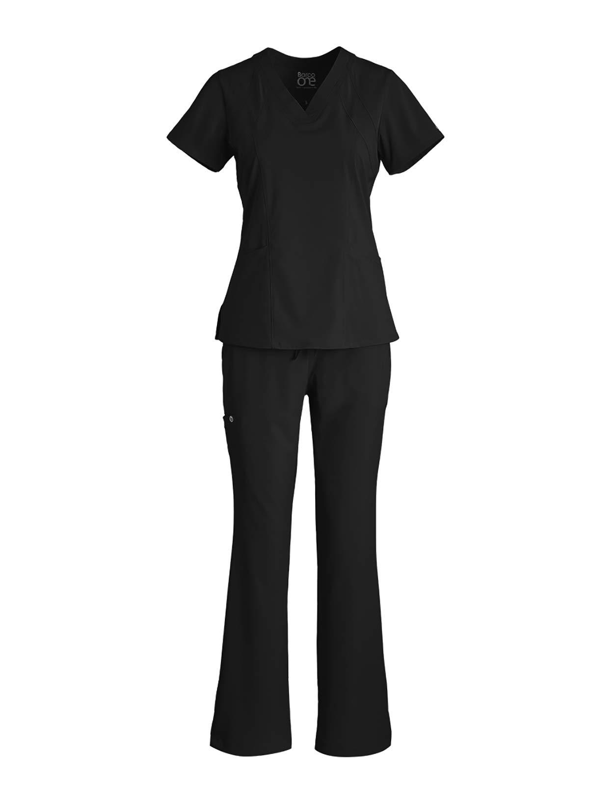 BARCO One Bundle – V-Neck Top + Midrise Cargo Pant Medical Scrub Set for Women