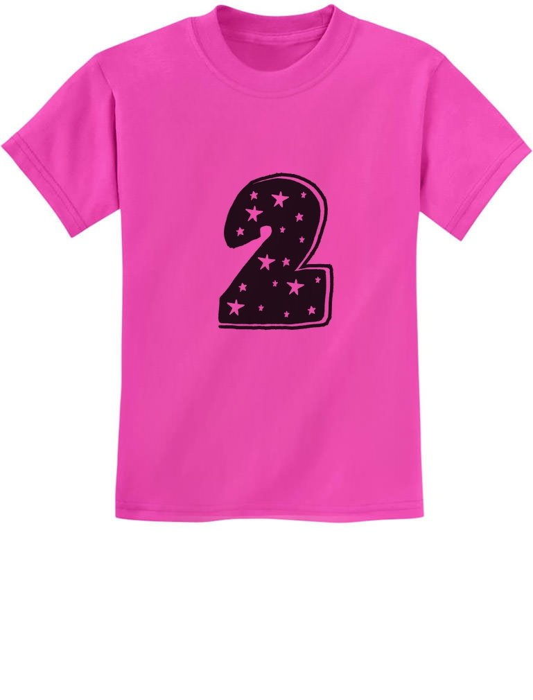 Tstars - Two Years Old Cute Birthday Gift Idea - I'm 2 Superstar Kids T-Shirt