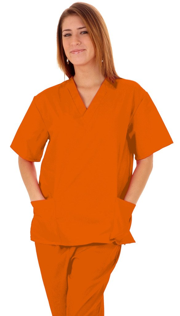 M&M SCRUBS Women's Scrub Set Medical Scrub Top and Pants (XS to 3XL)