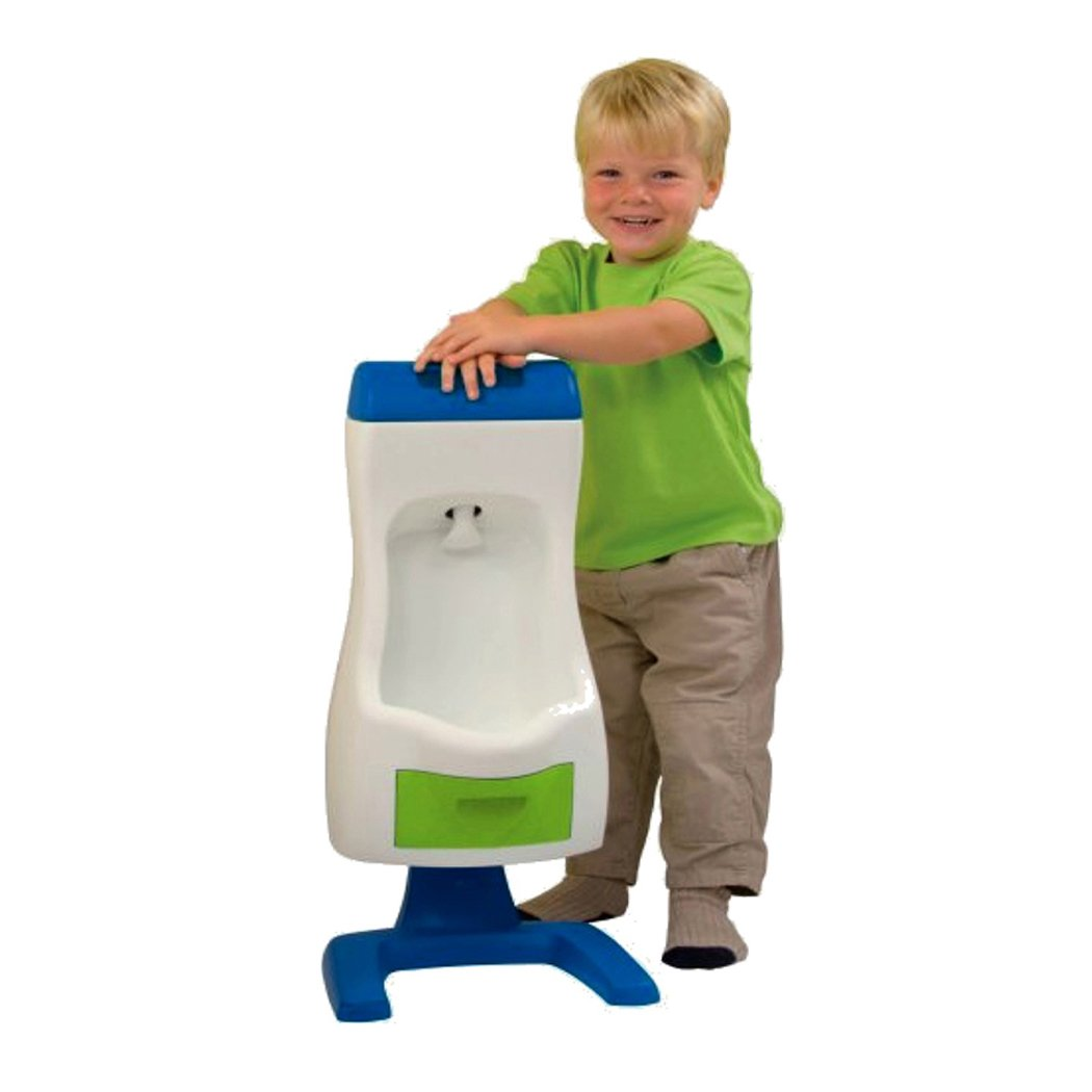 PETER POTTY Grow'n Up Flushable Toddler Urinal, Beige