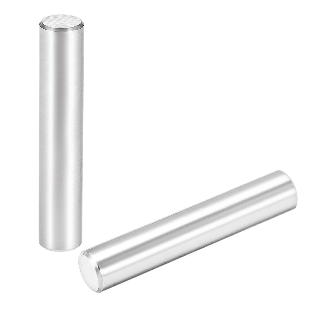 """uxcell 12 x 70mm(Approx 15/32"""") Dowel Pin 304 Stainless Steel Wood Bunk Bed Dowel Pins Shelf Pegs Support Shelves 2Pcs"""
