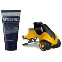 Grooming Lounge Beard Destroyer Shaving Cream and HeadBlade ATX Men's Head Shaving Razor Bundle