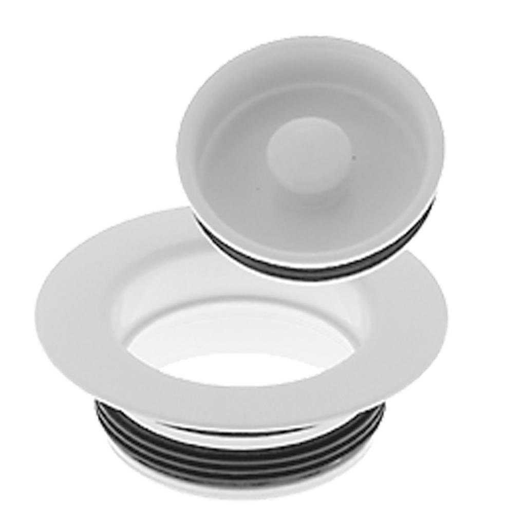 Westbrass D2091-50 Replacement Disposal Flange, Powder Coat White