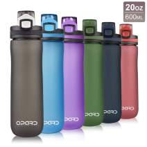 BPA-Free Leak-Proof Non-Toxic 32 oz EYQ QuickSpout Water Bottle with Time Marker and Carry Strap