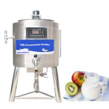 MXBAOHENG 75L Pasteurization Machine Commercial Pasteurizer for Milk Juice Beer Sterilization Disinfection 220V