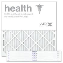 AIRx Filters 24x24x1 Air Filter MERV 13 Pleated HVAC AC Furnace Air Filter, Health 6-Pack, Made in the USA