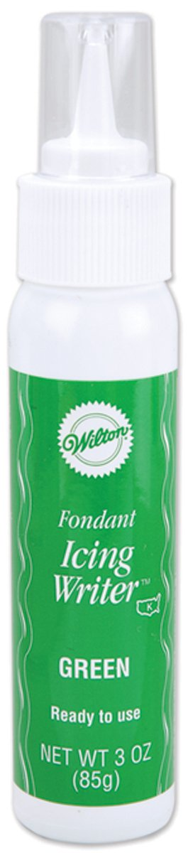 Wilton 710-2229 Fondant Icing Writer, Green