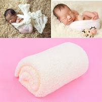 Newborn Photography Props Stretch Wraps Baby,Aniwon 2Pcs Baby Photo Props DIY Long Ripple Wraps Blanket Wraps for Baby Boys Girls