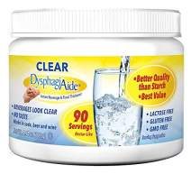 Clear DysphagiAide® Instant Beverage and Food Thickener Powder, 4.4 oz Jar-90 Servings