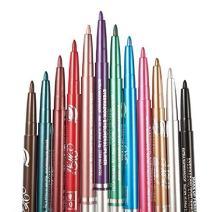 12 PCS Colorful Eyebrow Pencil Eyeliner Eyebrow Lip Liner Pencil Pen Makeup Cosmetic Set Kit Tool