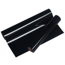 VINYL FROG 0.8x5' PU Black Iron On Heat Transfer Vinyl Rolls HTV