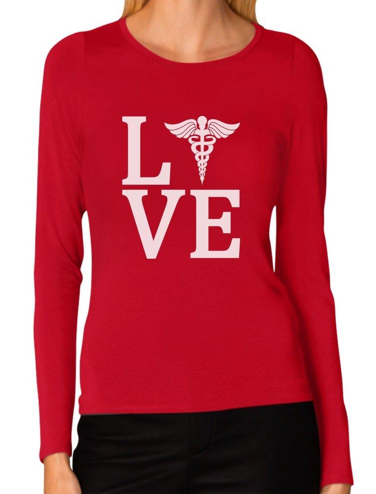 Love Nurse Registered Nurse RN Nurse Appreciation Women Long Sleeve T-Shirt