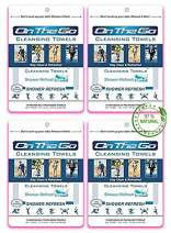 On The Go Towels Shower Refresh Large Body Wipes (40)