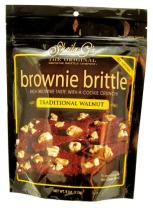 Sheila G Brownie Brittle, Traditional Walnut, 4 Ounce (Packaging May Vary)