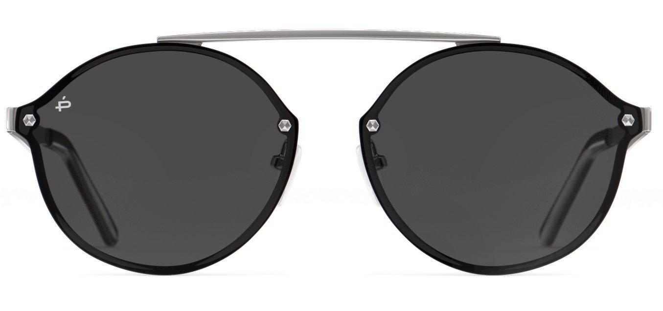 "PRIVÉ REVAUX Places We Love Collection ""The Orient"" Polarized Round Sunglasses"