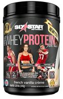 Six Star 100% Whey Protein for Her Powder, Whey Protein Isolate, French Vanilla, 1.2 pounds