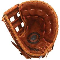 Nokona WB-1250-H Open Web Base Mitt Walnut Leather Baseball Glove (12.5-Inch)