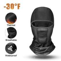 RIGWARL Thermal Balaclava Face Mask for Motorcycle Balaclava Ski Mask-Waterproof Windproof for Men, Women, Kids