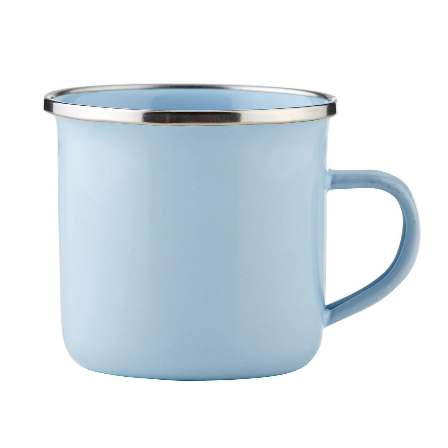 Stephan Baby Heirloomed Collection Capacity Enamel Baby Cup, White