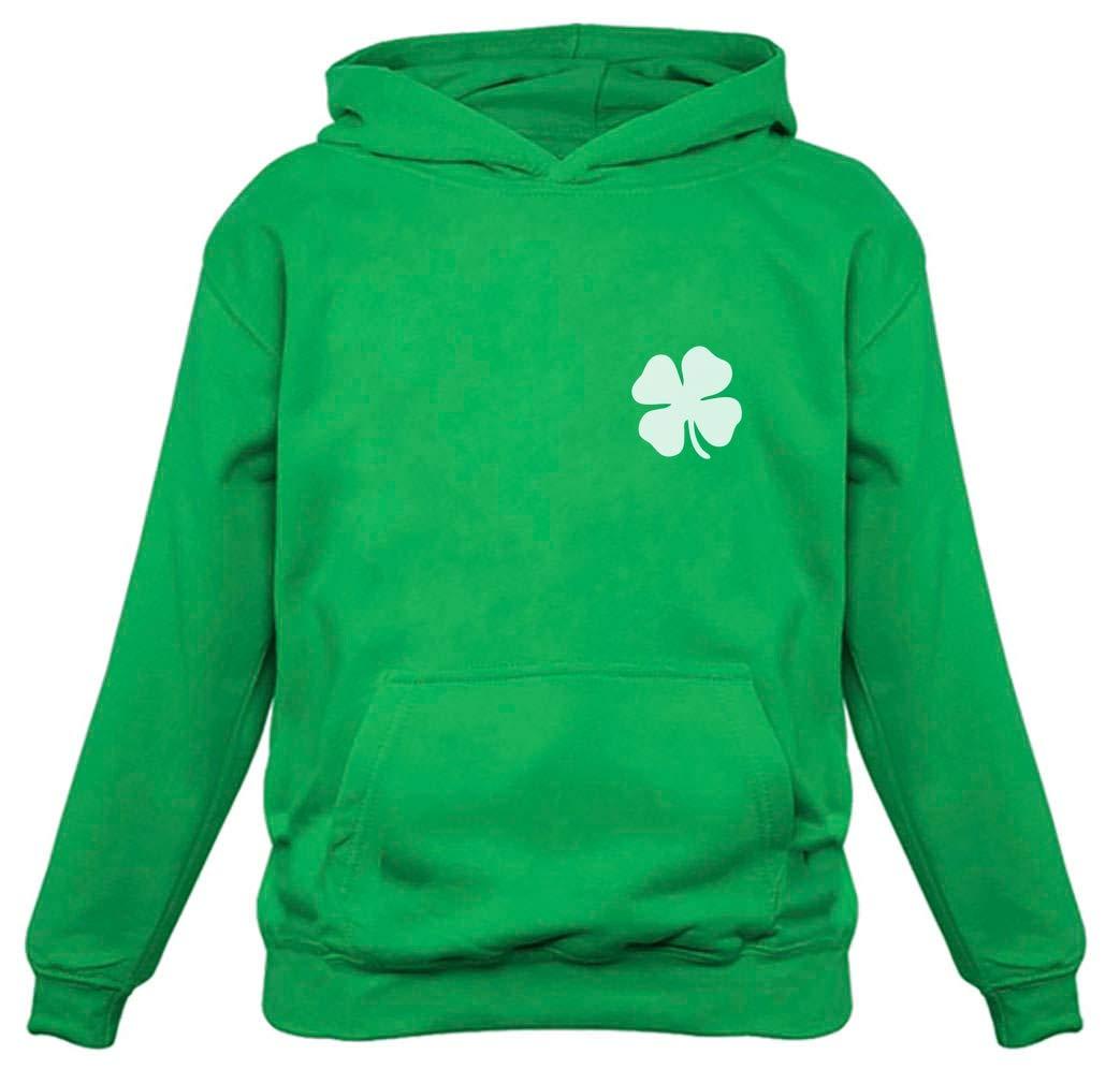Irish Shamrock Pocket Size Clover St. Patrick's Day Women Hoodie
