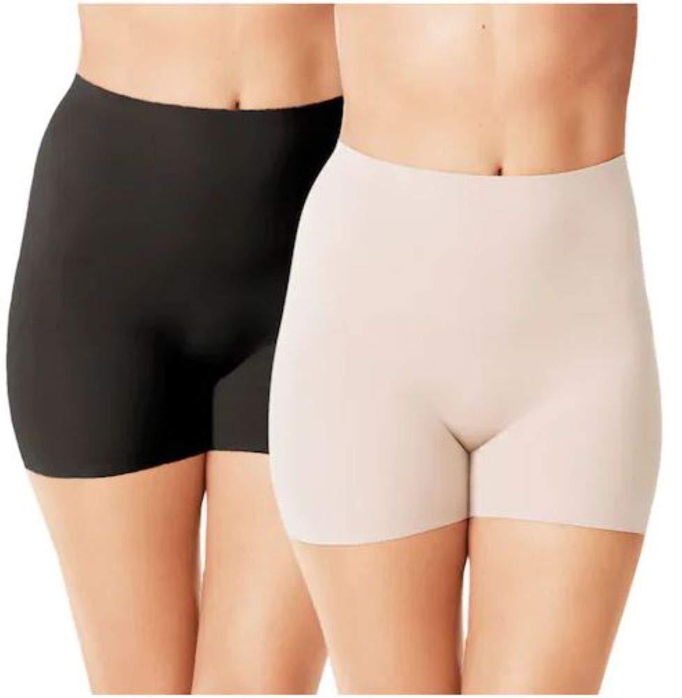 Warner's Women's No Pinching. No Problems. Thigh Slimming Shapewear Shorties (2 Pack)