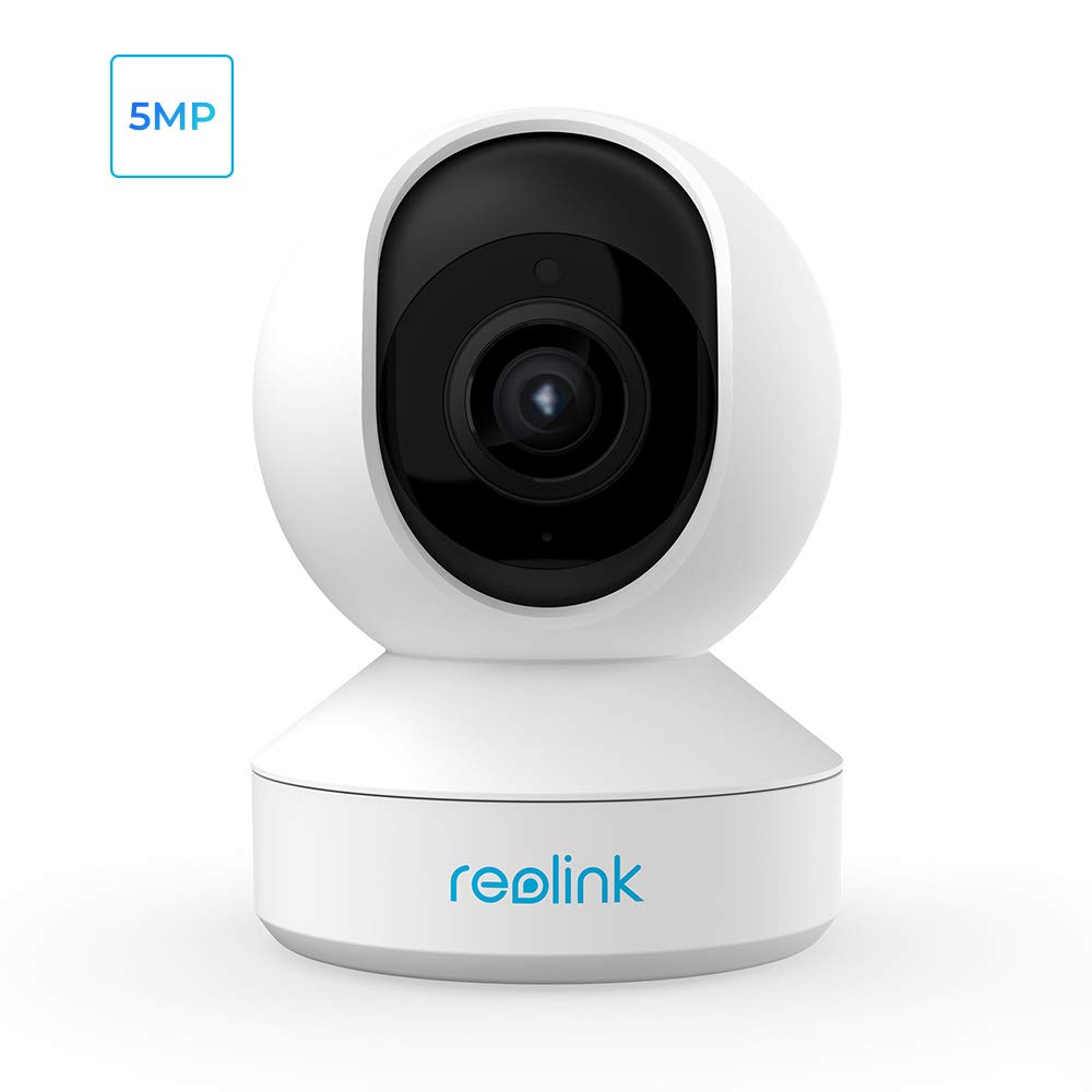 Wireless Security Camera, Reolink 5MP HD WiFi IP Camera, Home Security Camera System for Baby/Pet, Pan/Tilt/Zoom, 2.4GHz/5GHz WiFi, 2-Way Talk, Night Vision, 7 Day Free Cloud/SD Card Storage, E1 Zoom