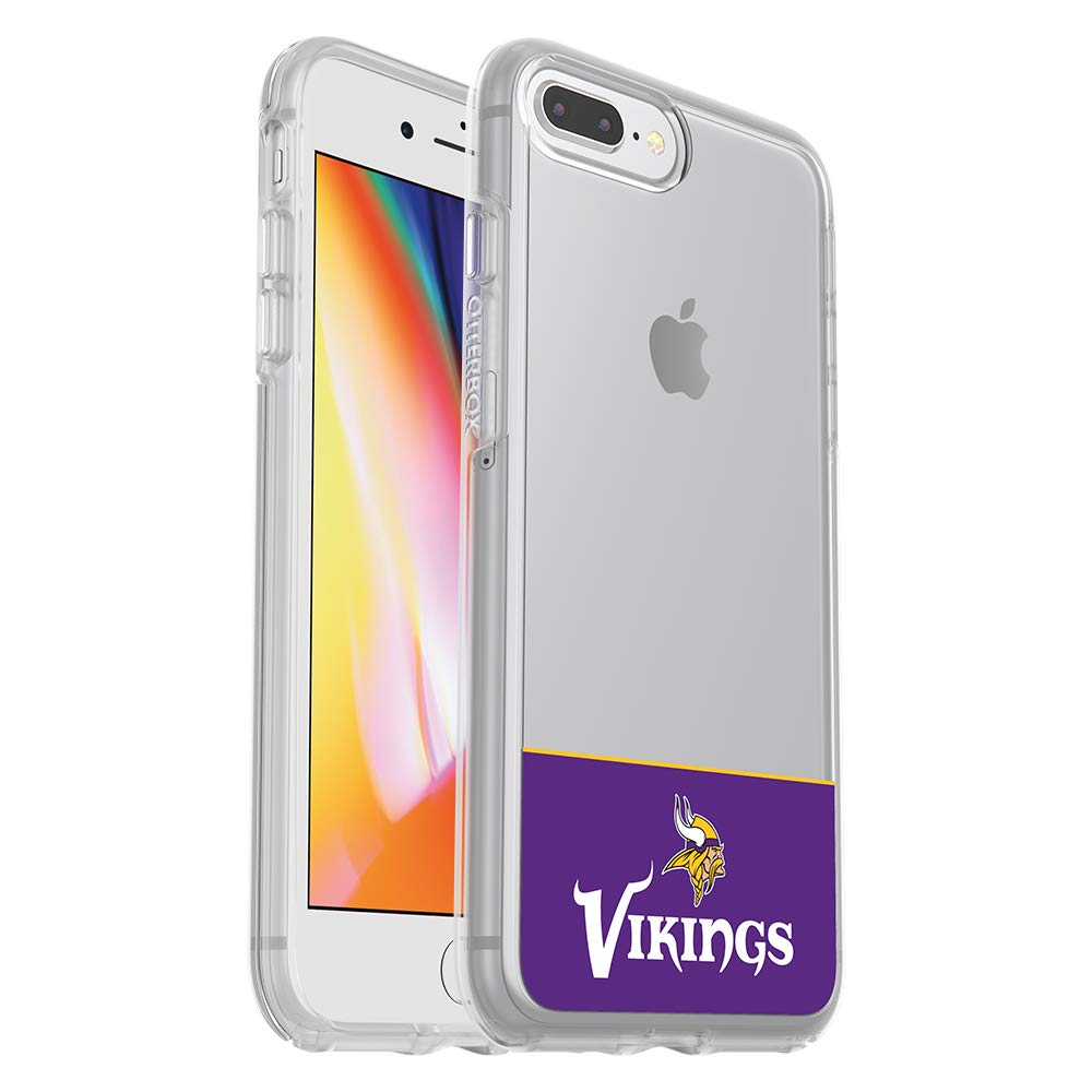 OtterBox NFL SYMMETRY SERIES Case for iPhone 8 Plus & 7 Plus (ONLY) - Retail Packaging - VIKINGS