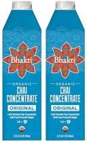 Bhakti Fair Trade Vegan Premium Chai Tea Concentrate (Original, 2-Pack)